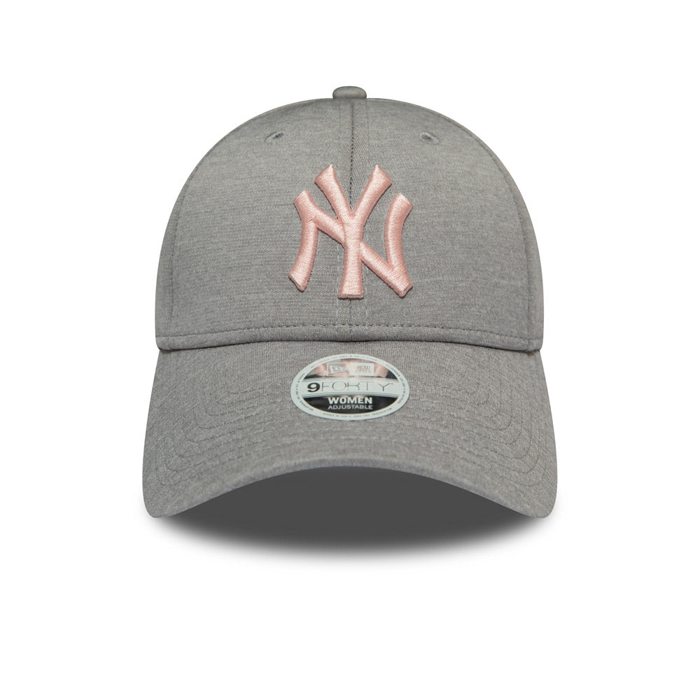 e80dfe9a NY Yankees Womens New Era 940 Shadow Tech Grey Baseball Cap – lovemycap