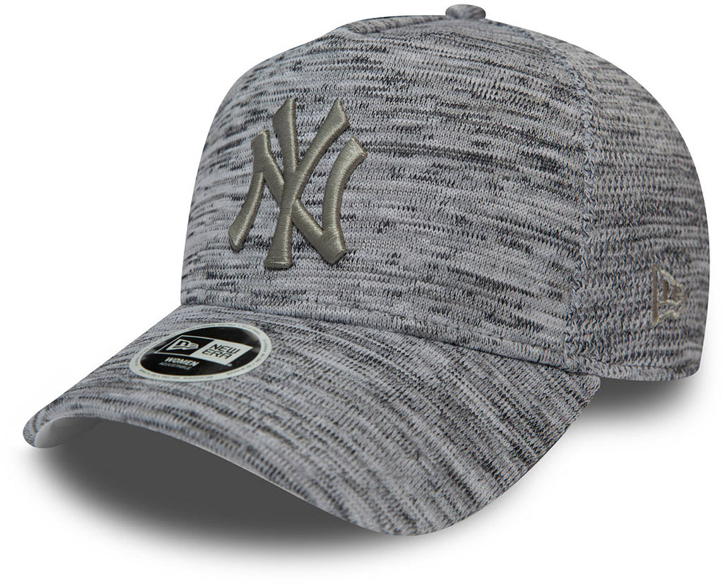NY Yankees Womens New Era Engineered Fit A-Frame Trucker Cap