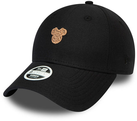 Minnie Mouse Womens New Era 940 Black Disney Baseball Cap