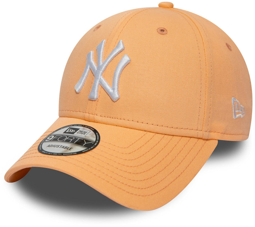 NY Yankees New Era 940 League Essential Peach Baseball Cap