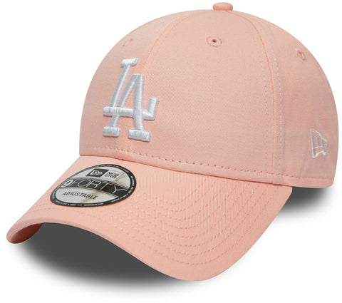 LA Dodgers New Era 940 League Essential Pink Baseball Cap