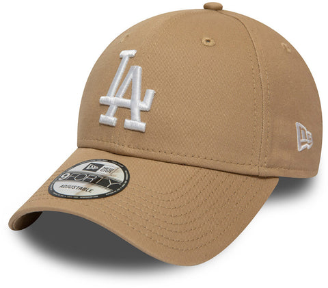 LA Dodgers New Era 940 League Essential Camel Baseball Cap