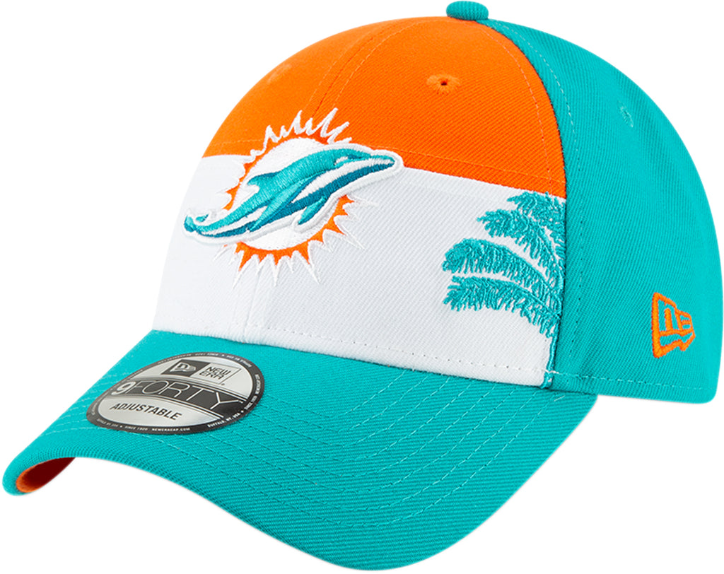 check out 88a40 1ae38 ... miami dolphins new era 940 nfl 2019 draft team cap