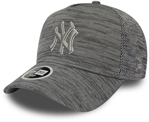 NY Yankees Womens New Era Engineered Fit Grey Trucker Cap