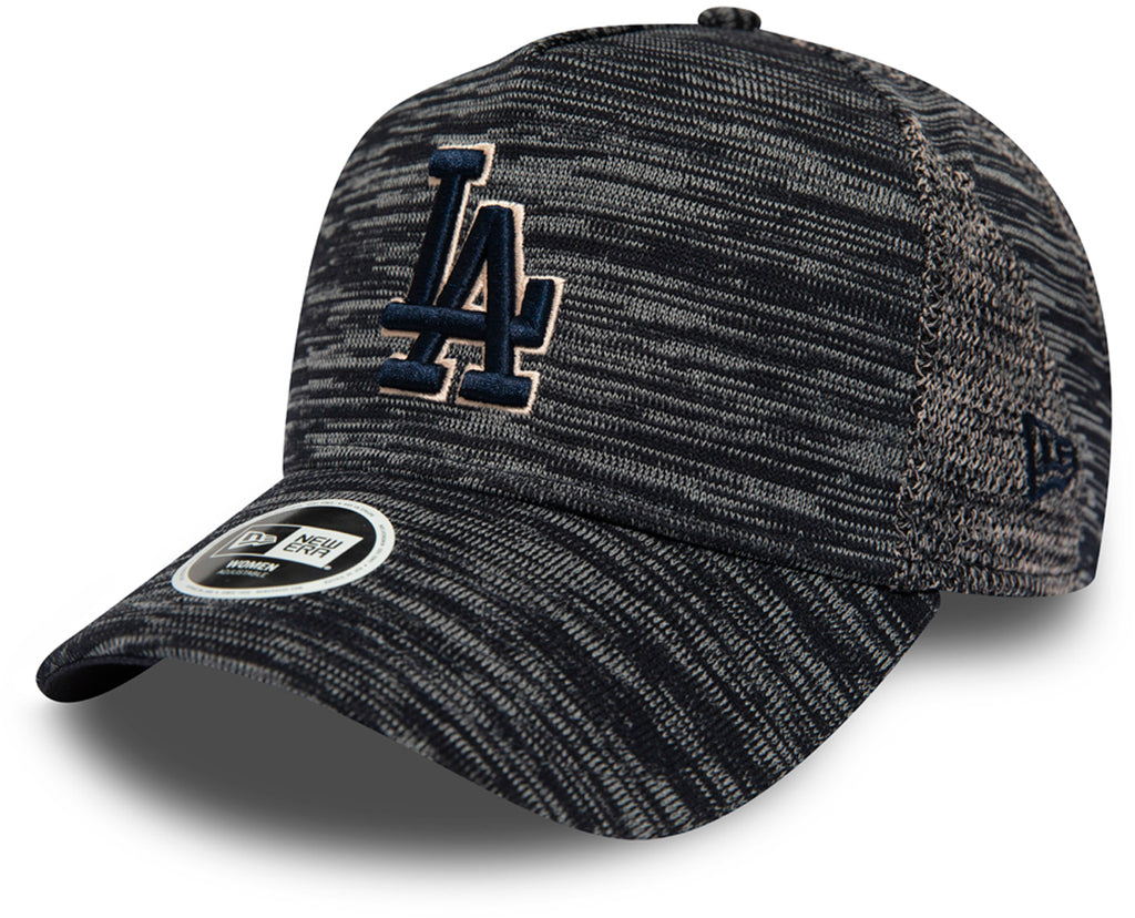 LA Dodgers Womens New Era Engineered Fit Navy Trucker Cap