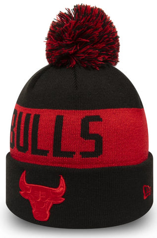 Chicago Bulls New Era NBA 2019 Team Tonal Bobble Hat - pumpheadgear, baseball caps