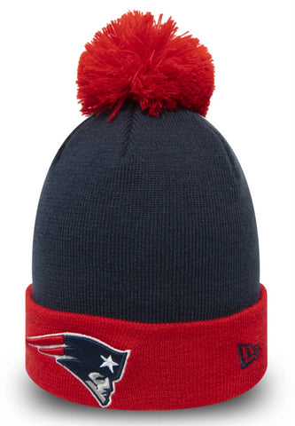 New England Patriots New Era NFL Pop Team Bobble Hat