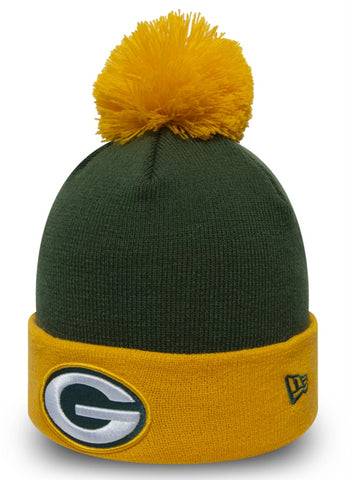 Green Bay Packers New Era NFL Pop Team Bobble Hat