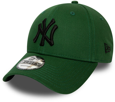 NY Yankees New Era 940 League Essential Green Baseball Cap