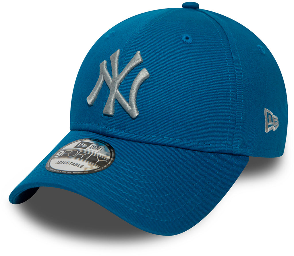NY Yankees New Era 940 League Essential Blue Baseball Cap