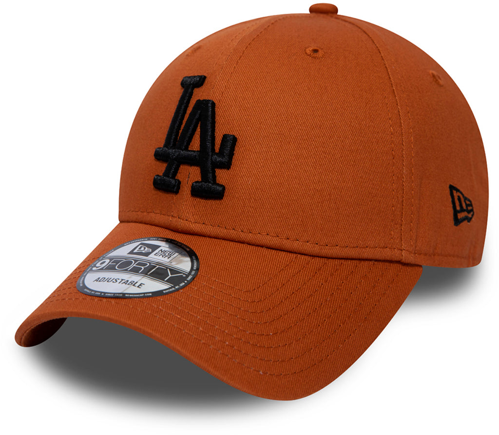 LA Dodgerss New Era 940 League Essential Rust Baseball Cap
