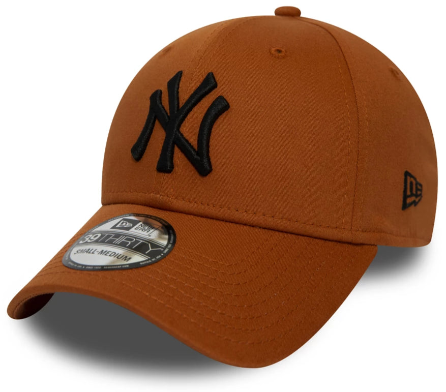 NY Yankees New Era 3930 League Essential Rust Stretch Fit Baseball Cap