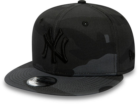 NY Yankees New Era Kids 950 Midnight Camo Snapback Cap (Age 4 - 10 years)