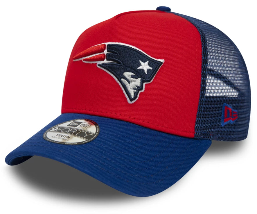 New England Patriots New Era Kids Trucker Cap (Ages 2 - 10 years)