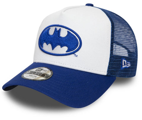 Batman New Era Kids DC Comics Trucker Cap (Ages 2 - 10 years) - pumpheadgear, baseball caps