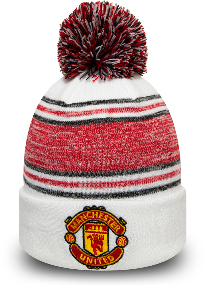 Manchester United New Era Fa 2019 White Bobble Hat Lovemycap