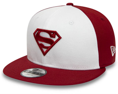 Superman New Era Kids 950 Character Front Snapback Cap (Age 4 - 10 years)