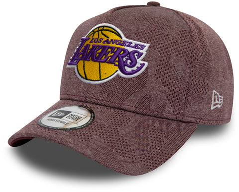 LA Lakers New Era Engineered Plus Maroon Trucker Cap