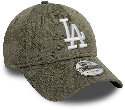 LA Dodgers New Era 940 Engineered Plus Olive Baseball Cap