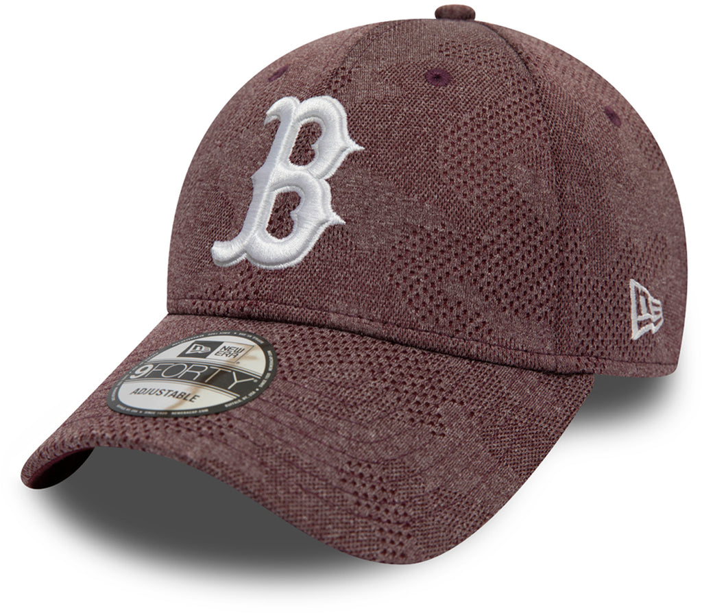 Boston Red Sox New Era 940 Engineered Plus Maroon Baseball Cap - pumpheadgear, baseball caps