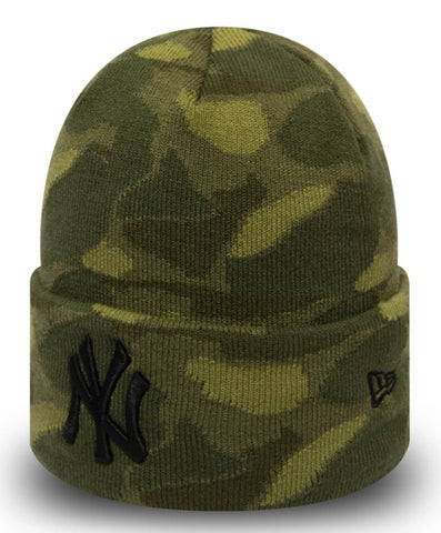 NY Yankees New Era Engineered Plus Knit Beanie
