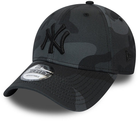 NY Yankees New Era 940 League Essential Midnight Camo Baseball Cap - pumpheadgear, baseball caps