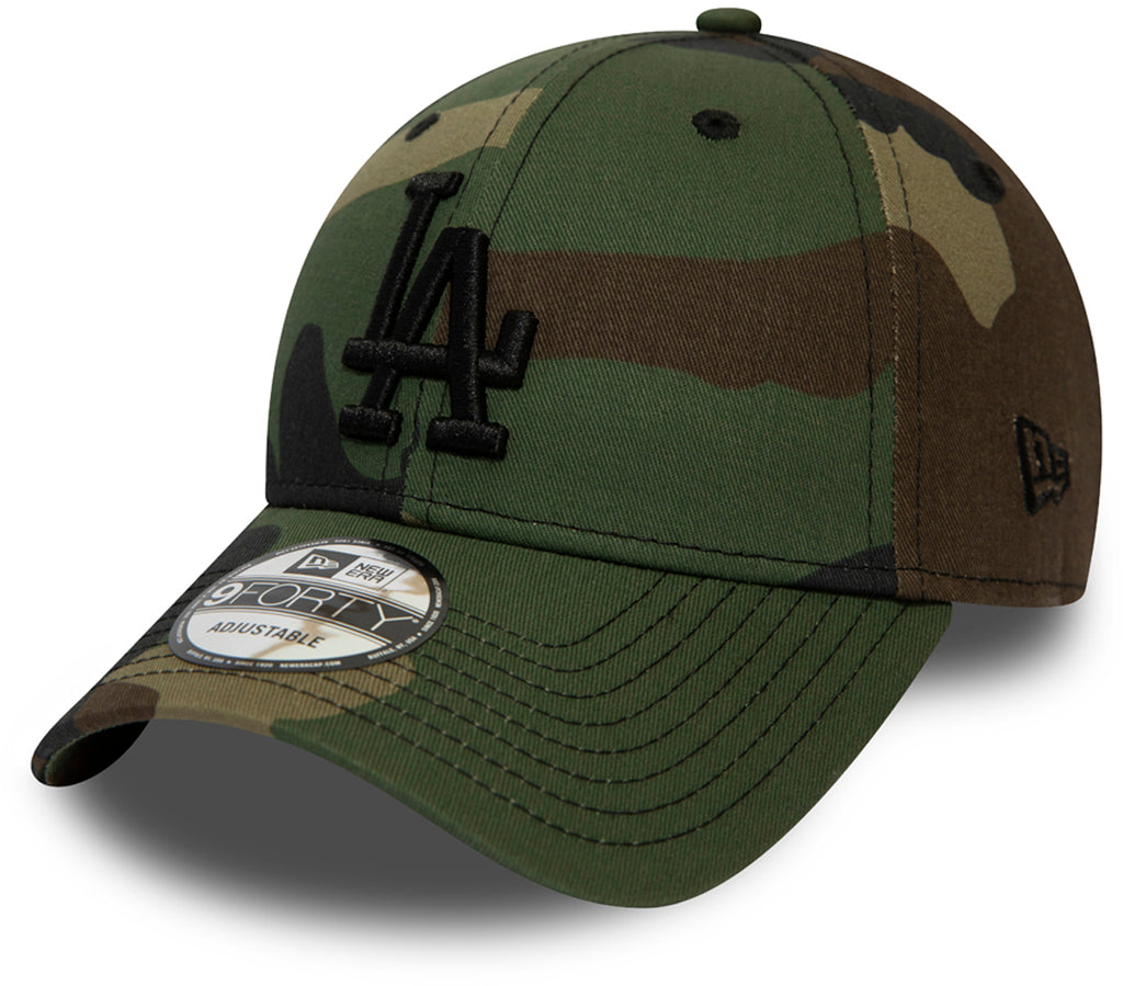 LA Dodgers New Era 940 Camo Essential Baseball Cap