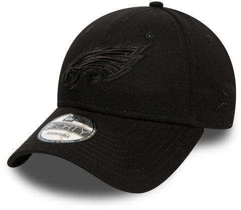 Philadelphia Eagles New Era 940 All Black Snapback Cap