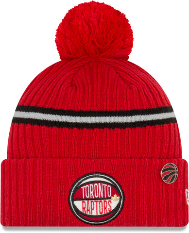 Toronto Raptors New Era NBA 2019 Draft Knit Bobble Hat