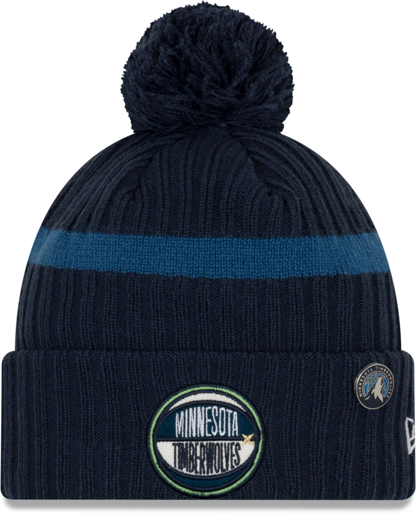 Minnesota Timberwolves New Era NBA 2019 Draft Knit Bobble Hat