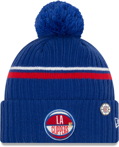 Los Angeles Clippers New Era NBA 2019 Draft Knit Bobble Hat