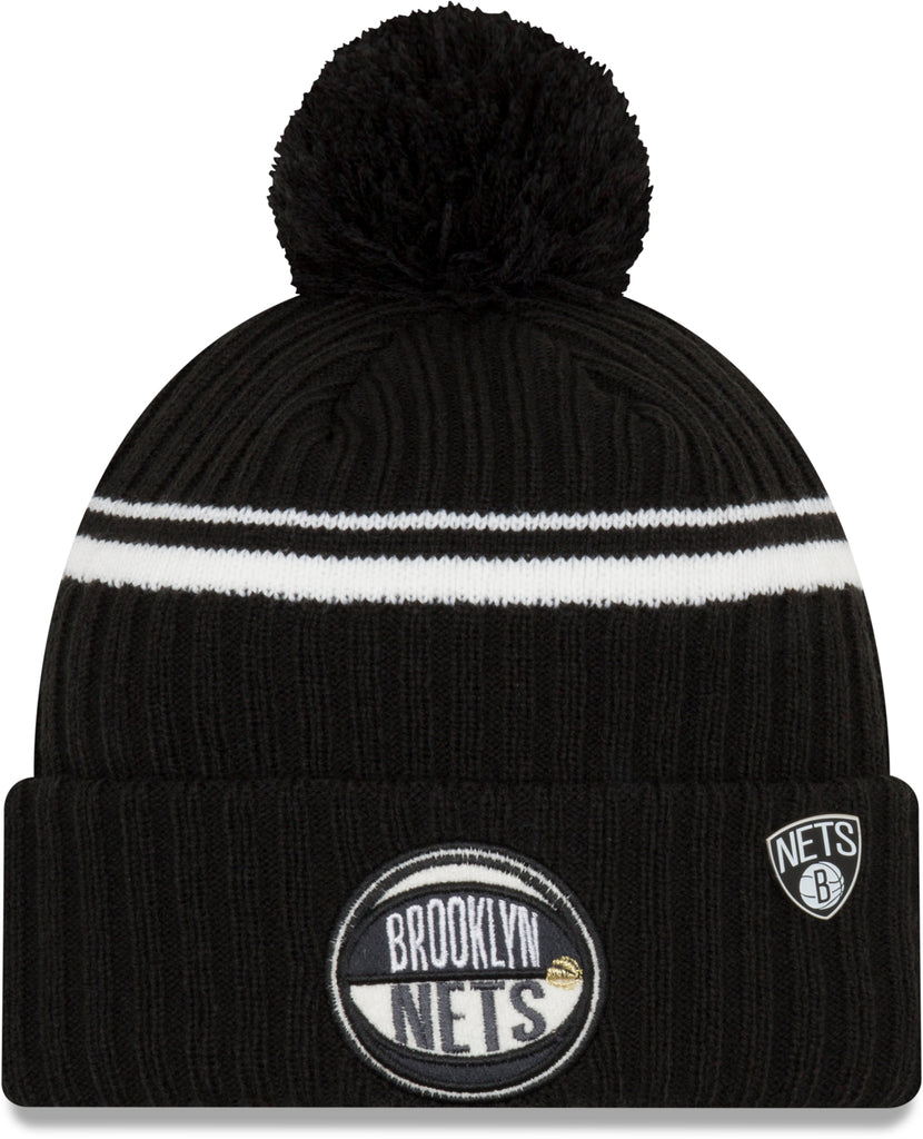 Brooklyn Nets New Era NBA 2019 Draft Knit Bobble Hat - pumpheadgear, baseball caps