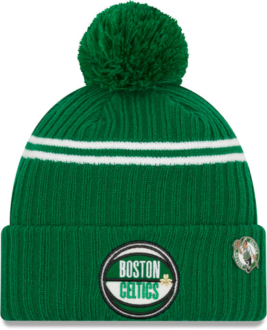 Boston Celtics New Era NBA 2019 Draft Knit Bobble Hat - pumpheadgear, baseball caps