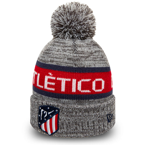 Athletico Madrid 2019 New Era Jake Knit Bobble Hat - pumpheadgear, baseball caps