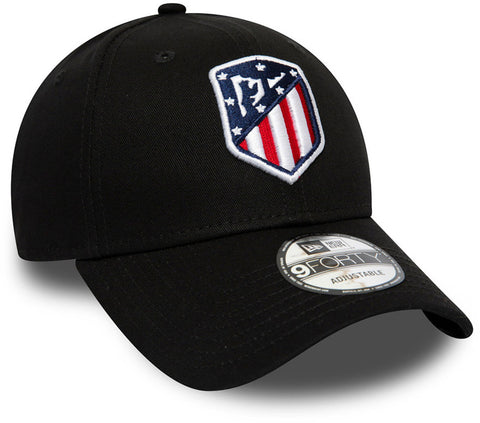Athletico Madrid New Era 940 Essential Black Cap