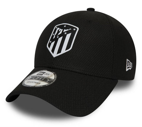 Athletico Madrid FA2019 New Era Diamond Era Black Cap - pumpheadgear, baseball caps
