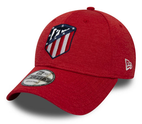 Athletico Madrid FA2019 New Era Shadow Tech Scarlet Cap - pumpheadgear, baseball caps
