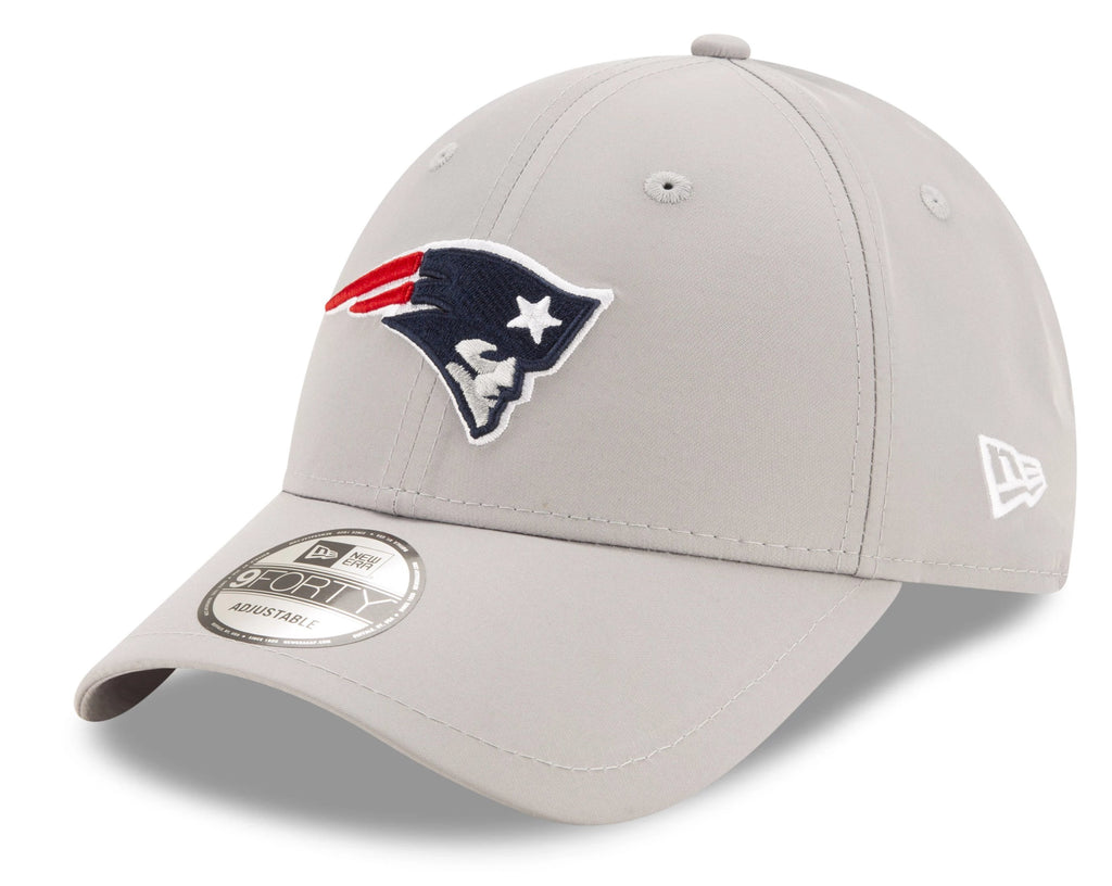 New England Patriots New Era 940 NFL Winter Script Grey Cap