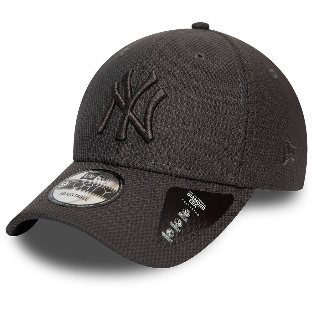 NY Yankees New Era 940 Mono Team Colour Grey Baseball Cap