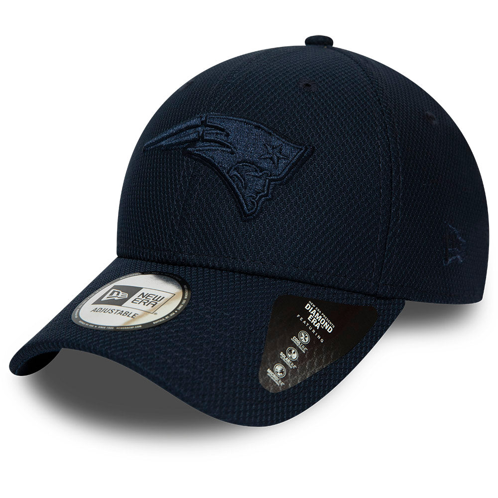 New England Patriots New Era 940 NFL Mono Team Colour Navy Cap