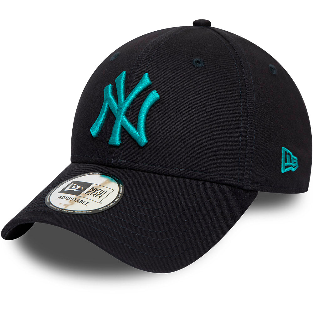 NY Yankees New Era 940 League Essential Navy Blue Baseball Cap