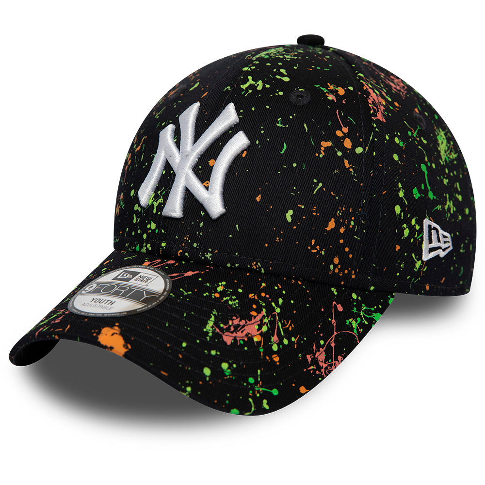 NY Yankees Kids New Era 940 Paint Pack Navy Baseball Cap (Ages 2 - 10 years)