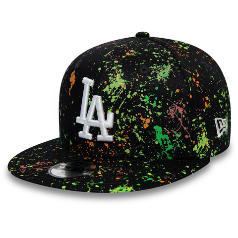 LA Dodgers New Era Kids 950 Paint Pack Navy Snapback Cap (Age 4 - 10 years)