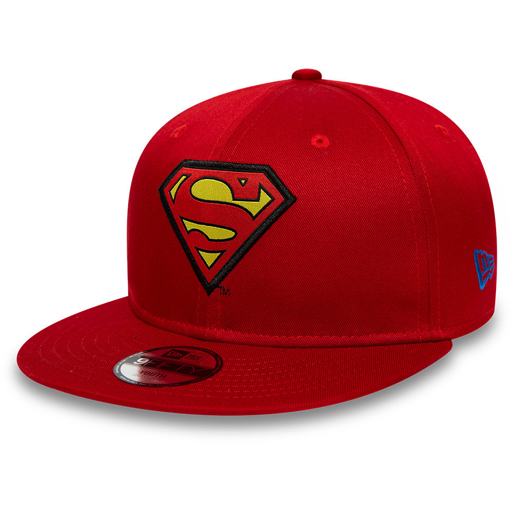 Superman New Era 950 DC Comics Kids Character Snapback Cap (Age 4 - 10 years) - pumpheadgear, baseball caps