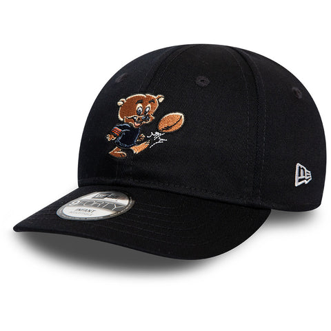 Chicago Bears New Era 940 Infants NFL Mascot Stretch Fit Cap (0-2 years)