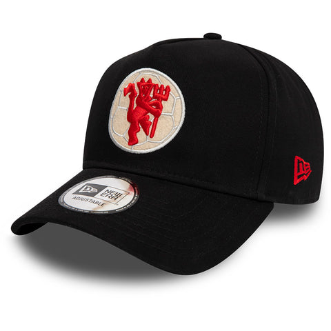 Manchester United New Era 940 A-Frame Black Cap
