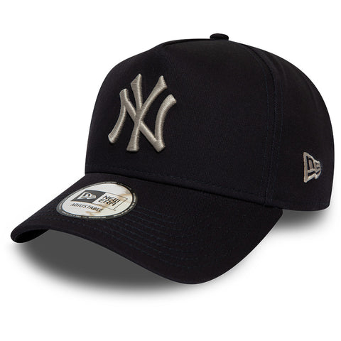 NY Yankees New Era Kids League Essential A-Frame Navy Cap (Age 6 - 10 years)