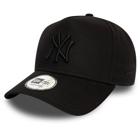 NY Yankees New Era Kids League Essential A-Frame Black Cap (Age 6 - 10 years)