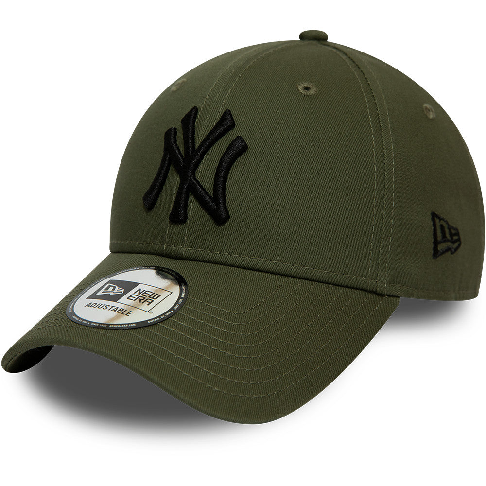 NY Yankees Kids New Era 940 Olive Baseball Cap (Ages 2 - 10 years)