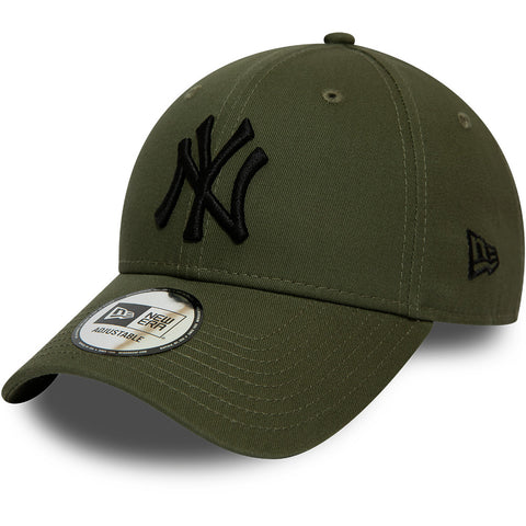 NY Yankees Kids New Era 940 Olive Baseball Cap (Ages 2 - 10 years) - pumpheadgear, baseball caps